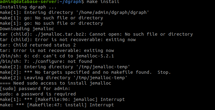 dgraph_source_install